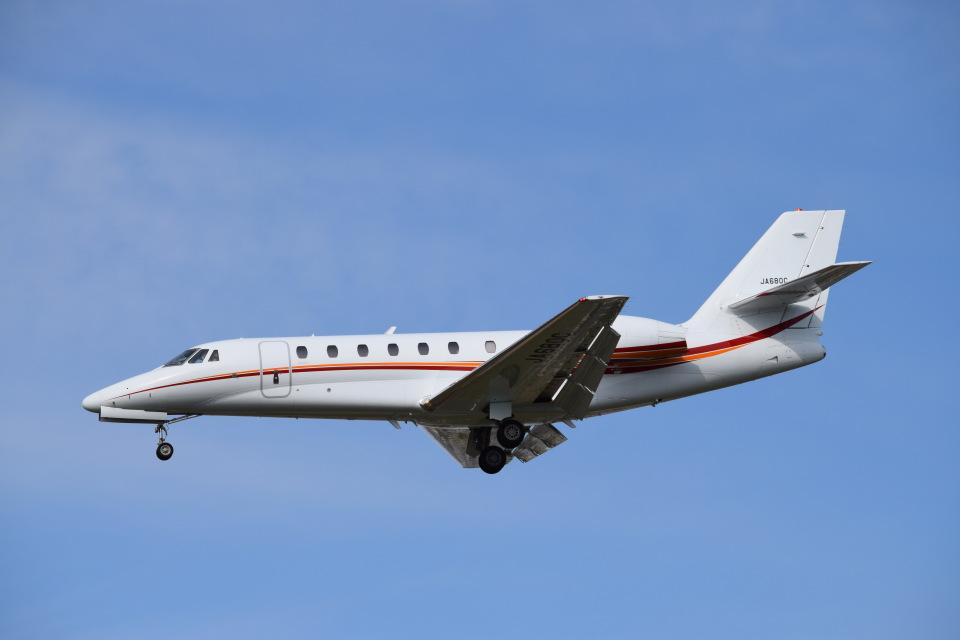 SYさんの日本エアロスペース Cessna 680 Citation Sovereign/Sovereign+ (JA680C) 航空フォト