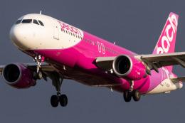 Yukio a.k.a Yu Worksさんが、福岡空港で撮影したピーチ A320-214の航空フォト(飛行機 写真・画像)