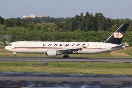 hiroki_h2さんが、成田国際空港で撮影したカーゴジェット・エアウェイズ 767-328/ER(BDSF)の航空フォト(飛行機 写真・画像)