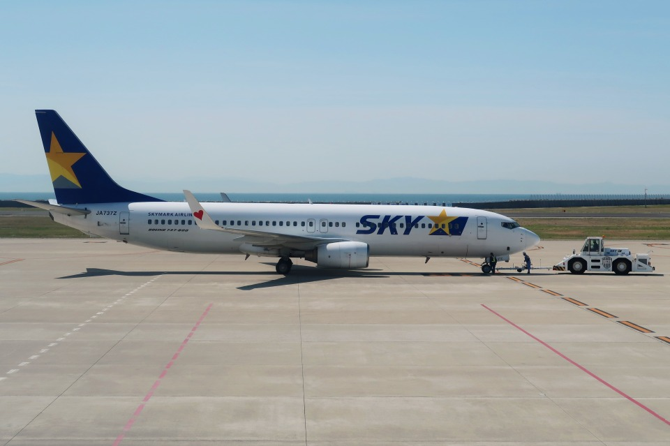 Hiro-hiroさんのスカイマーク Boeing 737-800 (JA737Z) 航空フォト