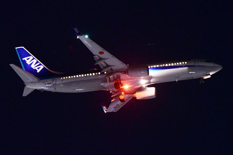 TOPAZ102さんの全日空 Boeing 737-800 (JA71AN) 航空フォト