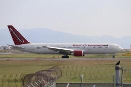 hanatomo735さんが、岩国空港で撮影したオムニエアインターナショナル 767-3Q8/ERの航空フォト(飛行機 写真・画像)