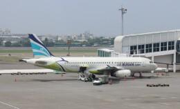 Rsaさんが、高雄国際空港で撮影したエアプサン A320-232の航空フォト(飛行機 写真・画像)