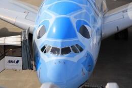 ゆなりあさんが、中部国際空港で撮影した全日空 A380-841の航空フォト(飛行機 写真・画像)