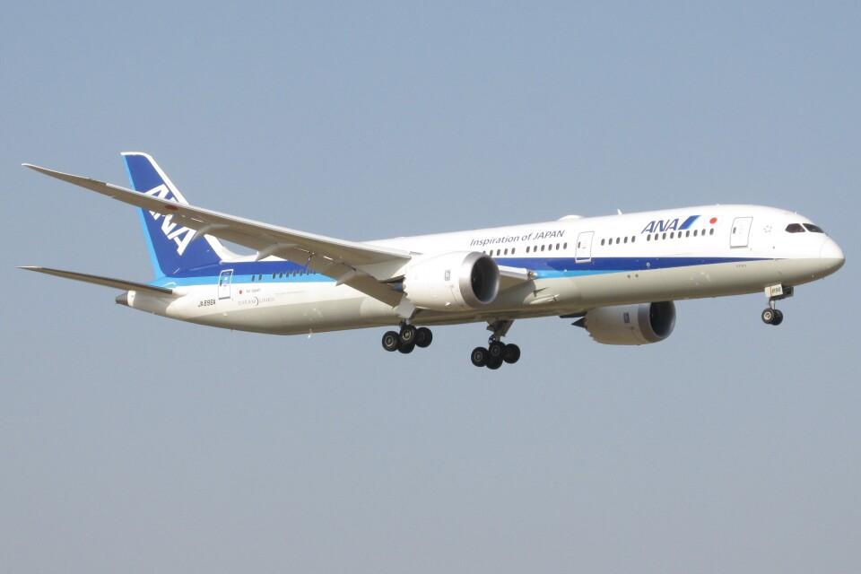 BOEING737MAX-8さんの全日空 Boeing 787-9 (JA896A) 航空フォト
