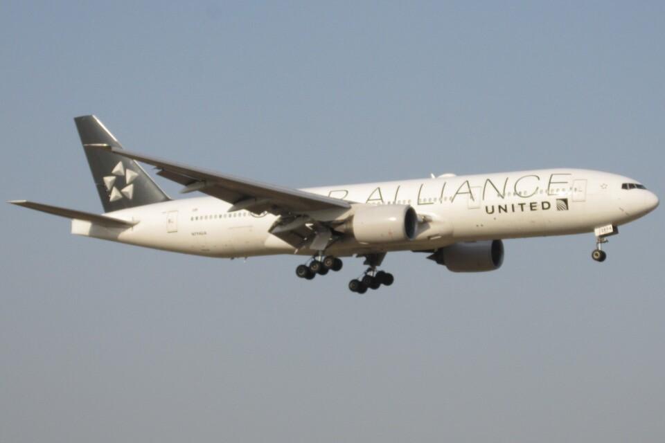 BOEING737MAX-8さんのユナイテッド航空 Boeing 777-200 (N794UA) 航空フォト