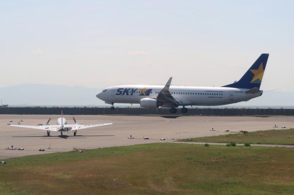 Hiro-hiroさんのスカイマーク Boeing 737-800 (JA73ND) 航空フォト