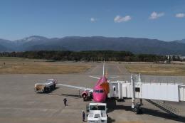 Hiro-hiroさんが、松本空港で撮影したフジドリームエアラインズ ERJ-170-200 (ERJ-175STD)の航空フォト(飛行機 写真・画像)