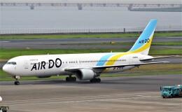鉄バスさんが、羽田空港で撮影したAIR DO 767-33A/ERの航空フォト(飛行機 写真・画像)