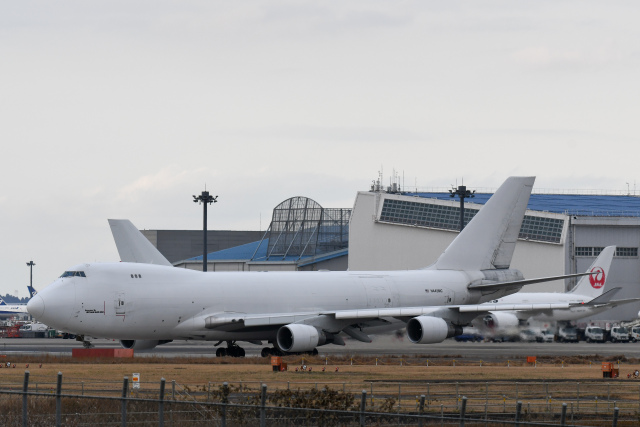 panchiさんが、成田国際空港で撮影したアトラス航空 747-4B5F/ER/SCDの航空フォト(飛行機 写真・画像)