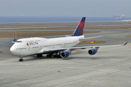 Gambardierさんが、中部国際空港で撮影したデルタ航空 747-451の航空フォト(飛行機 写真・画像)