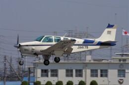 mild lifeさんが、八尾空港で撮影した日本法人所有 A36TC Bonanzaの航空フォト(飛行機 写真・画像)