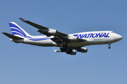 saoya_saodakeさんが、成田国際空港で撮影したナショナル・エアラインズ 747-412(BCF)の航空フォト(飛行機 写真・画像)