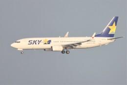 JUTENさんが、中部国際空港で撮影したスカイマーク 737-8FZの航空フォト(飛行機 写真・画像)