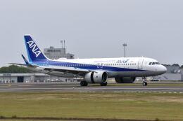 ワイエスさんが、鹿児島空港で撮影した全日空 A320-271Nの航空フォト(飛行機 写真・画像)