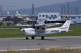 mild lifeさんが、八尾空港で撮影した大阪航空 172R Skyhawkの航空フォト(飛行機 写真・画像)