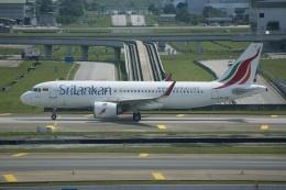 磐城さんが、クアラルンプール国際空港で撮影したスリランカ航空 A320-251Nの航空フォト(飛行機 写真・画像)