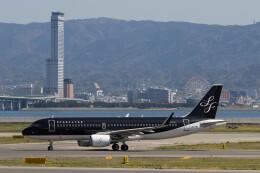 Koenig117さんが、関西国際空港で撮影したスターフライヤー A320-214の航空フォト(飛行機 写真・画像)