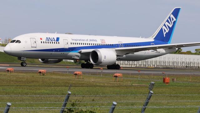 senchouさんが、伊丹空港で撮影した全日空 787-8 Dreamlinerの航空フォト(飛行機 写真・画像)