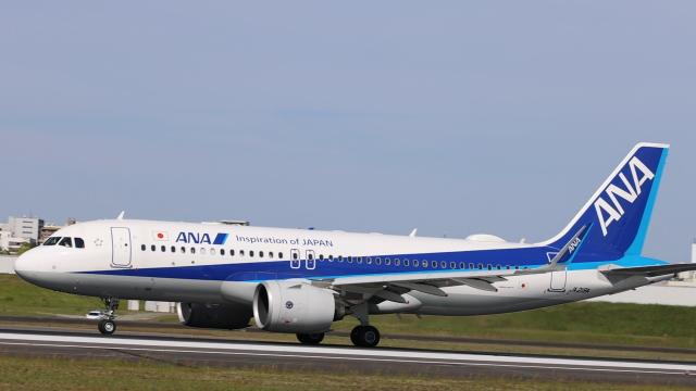 senchouさんが、伊丹空港で撮影した全日空 A320-271Nの航空フォト(飛行機 写真・画像)