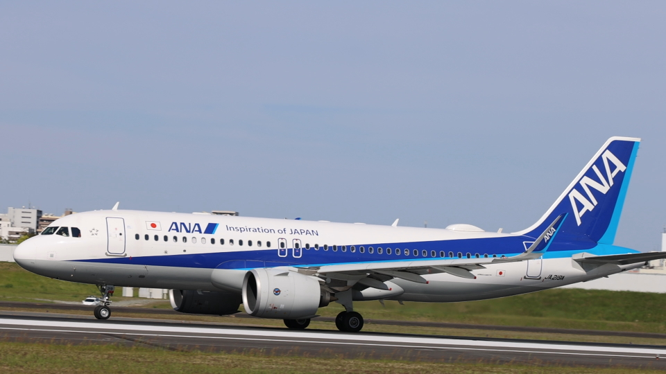 senchouさんの全日空 Airbus A320neo (JA219A) 航空フォト