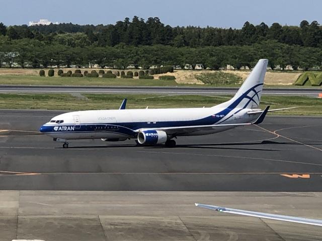 Shige-315さんが、成田国際空港で撮影したアトラン・アヴィアトランス・カーゴ・エアラインズ 737-86N(BCF)の航空フォト(飛行機 写真・画像)