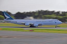Souma2005さんが、成田国際空港で撮影したキャセイパシフィック航空 747-867F/SCDの航空フォト(飛行機 写真・画像)