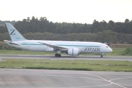 職業旅人さんが、成田国際空港で撮影したZIPAIR 787-8 Dreamlinerの航空フォト(飛行機 写真・画像)