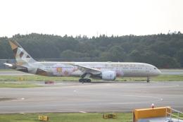 職業旅人さんが、成田国際空港で撮影したエティハド航空 787-9の航空フォト(飛行機 写真・画像)