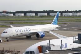 職業旅人さんが、成田国際空港で撮影したユナイテッド航空 787-9の航空フォト(飛行機 写真・画像)