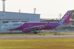 KT 327@KOJさんが、鹿児島空港で撮影したピーチ A320-214の航空フォト(飛行機 写真・画像)
