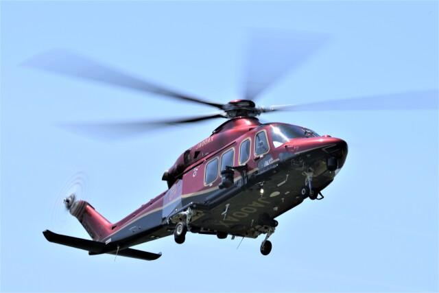 ヘリオスさんが、東京ヘリポートで撮影した日本法人所有 AW139の航空フォト(飛行機 写真・画像)