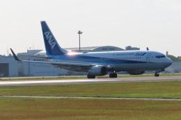 KT 327@KOJさんが、鹿児島空港で撮影した全日空 737-881の航空フォト(飛行機 写真・画像)