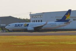 KT 327@KOJさんが、鹿児島空港で撮影したスカイマーク 737-8ALの航空フォト(飛行機 写真・画像)