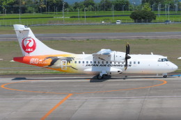 KT 327@KOJさんが、鹿児島空港で撮影した日本エアコミューター ATR-42-600の航空フォト(飛行機 写真・画像)