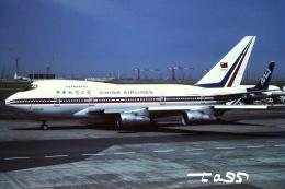 tassさんが、羽田空港で撮影したチャイナエアライン 747SP-09の航空フォト(飛行機 写真・画像)