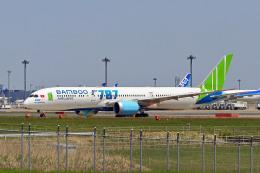 szkkjさんが、成田国際空港で撮影したバンブー・エアウェイズ 787-9の航空フォト(飛行機 写真・画像)