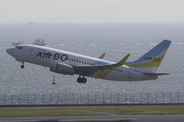 Sharp Fukudaさんが、羽田空港で撮影したAIR DO 737-781の航空フォト(飛行機 写真・画像)