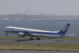 Sharp Fukudaさんが、羽田空港で撮影した全日空 777-381/ERの航空フォト(飛行機 写真・画像)