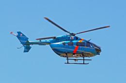 szkkjさんが、成田国際空港で撮影した千葉県警察 BK117C-2の航空フォト(飛行機 写真・画像)