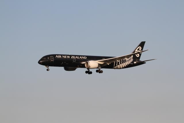 ベリックさんが、成田国際空港で撮影したニュージーランド航空 787-9の航空フォト(飛行機 写真・画像)