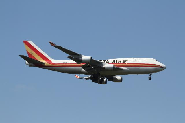 ベリックさんが、成田国際空港で撮影したカリッタ エア 747-446(BCF)の航空フォト(飛行機 写真・画像)