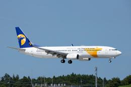 SGR RT 改さんが、成田国際空港で撮影したMIATモンゴル航空 737-8SHの航空フォト(飛行機 写真・画像)
