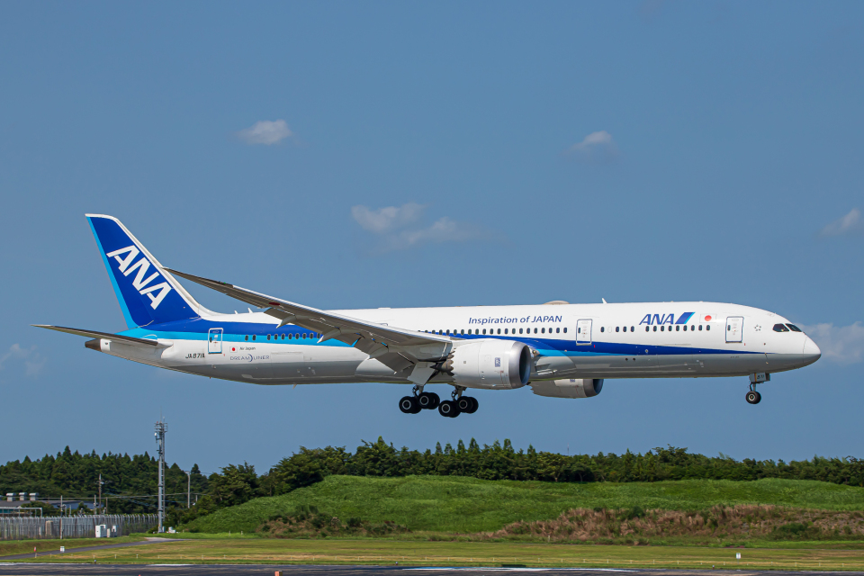 SGR RT 改さんの全日空 Boeing 787-9 (JA871A) 航空フォト
