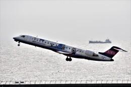 MSN/PFさんが、中部国際空港で撮影したアイベックスエアラインズ CL-600-2C10 Regional Jet CRJ-702ERの航空フォト(飛行機 写真・画像)