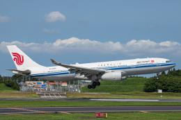 SGR RT 改さんが、成田国際空港で撮影した中国国際航空 A330-243の航空フォト(飛行機 写真・画像)