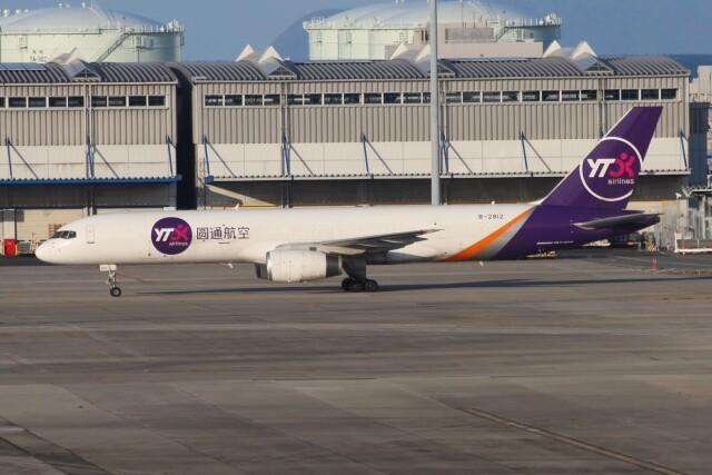 青春の1ページさんが、関西国際空港で撮影したYTOカーゴ・エアラインズ 757-28S(PCF)の航空フォト(飛行機 写真・画像)