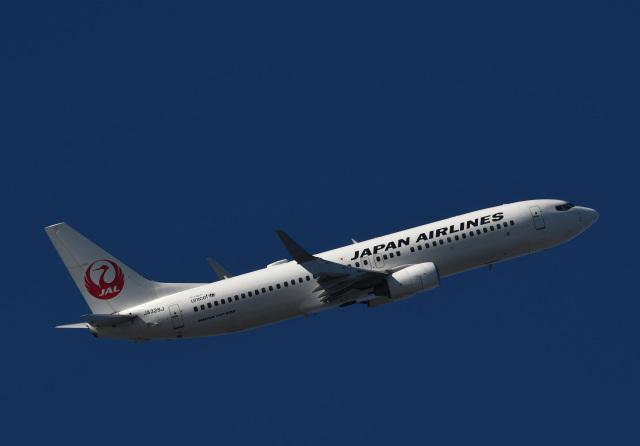 チャーリーマイクさんが、羽田空港で撮影した日本航空 737-846の航空フォト(飛行機 写真・画像)