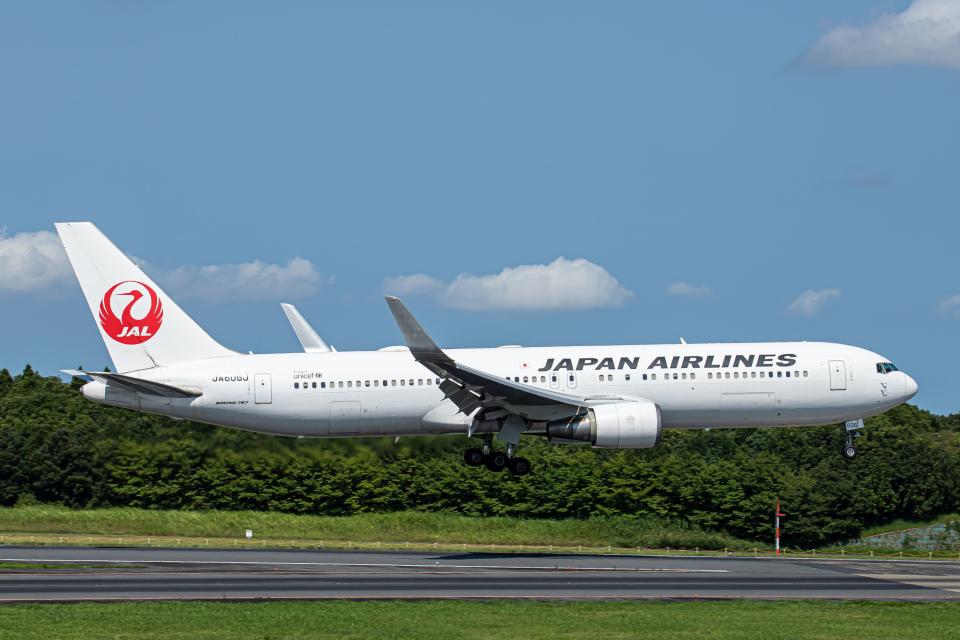 SGR RT 改さんの日本航空 Boeing 767-300 (JA606J) 航空フォト