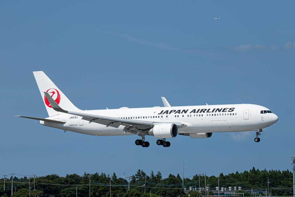 SGR RT 改さんの日本航空 Boeing 767-300 (JA618J) 航空フォト